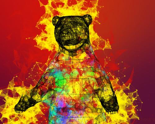 Rainbear Loves Pixel-honey